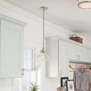 FEISS One Light Pendant Polished Nickel